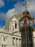 Little Ben Clock Tower, Victoria Palace Theatre, Victoria, London, England, United Kingdom Photographic Print by Charles Bowman