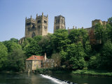 Durham Cathedral, Unesco World Heritage Site, Durham, County Durham, England, United Kingdom Photographic Print by Charles Bowman