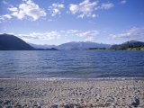 Lake Wanaka, Central Otago, South Island, New Zealand Photographic Print by Jeremy Bright