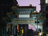 China Town, Manchester, England, United Kingdom Photographic Print by Charles Bowman