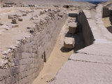 Unas Boat Pit, Sakkara, Egypt, North Africa, Africa Photographic Print by Richard Ashworth