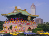 City Gate on Chungshan Road, Taipei, Taiwan Photographic Print by Charles Bowman