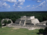 Temple of the Warriors, Chichen Itza, Unesco World Heritage Site, Yucatan, Mexico, North America Photographic Print by Nelly Boyd