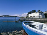 Boat and Lochalsh Hotel, Kyle of Lochalsh, Scotland Photographic Print by Pearl Bucknall