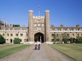 Trinity College, Cambridge, Cambridgeshire, England, United Kingdom Photographic Print by Steve Bavister