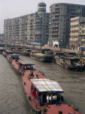 Suzhou Creek, Shanghai, China Photographic Print by Charles Bowman