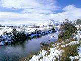 The Glenmore River in Galltair, Glenelg, Scotland Photographic Print by Pearl Bucknall