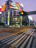 Ginza, Tokyo, Japan Photographic Print by Charles Bowman