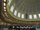 Reading Room, British Museum, London, England, United Kingdom Photographic Print by Charles Bowman