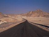 Valley of the Gazelles on the Road to St. Catherine's Monastery, Sinai Desert, Egypt Photographic Print by Nelly Boyd