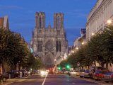 Cathedral of Notre Dame, Unesco World Heritage Site, Reims, Haute Marne, France Photographic Print by Charles Bowman