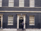 Prime Minister's London Residence, 10 Downing Street, Westminster, London, England Photographic Print by Charles Bowman