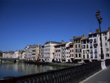 Bayonne on the River Adour, Pays Basque, Aquitaine, France Photographic Print by Nelly Boyd