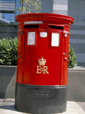 Red Post Box, London, England, United Kingdom Photographic Print by Nelly Boyd