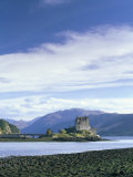 Eilean Donan Castle at Low Tide, Built in 13th Century to Ward off the Vikings, Highland Region Photographic Print by Pearl Bucknall