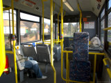 Interior of a Public Bus, England, United Kingdom Photographic Print by Charles Bowman