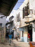 Main Street, Lamu Town, Island of Lamu, Kenya, East Africa, Africa Photographic Print by Julia Bayne