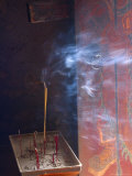 Incense Smoke, Tin Hau Temple, Sai Kung, Hong Kong, China Photographic Print by Charles Bowman