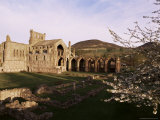 Melrose Abbey, Borders, Scotland, United Kingdom Photographic Print by Charles Bowman