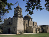 San Jose Mission, San Antonio, Texas, USA Photographic Print by Charles Bowman