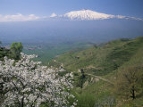 Mount Etna, Island of Sicily, Italy, Mediterranean Photographic Print by N A Callow