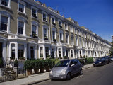 Terraced Housing in Street in Chelsea, Sw3, London, England, United Kingdom Photographic Print by Nelly Boyd