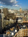 Westminster Skyline Cityscape, London, England, United Kingdom Photographic Print by Charles Bowman