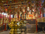 Tin Hau Temple, Causeway Bay, Hong Kong, China Photographic Print by Charles Bowman