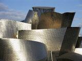 Guggenheim Museum, Bilbao, Euskadi (Pais Vasco), Spain Photographic Print by Charles Bowman