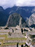 Inca Ruins, Machu Picchu, Unesco World Heritage Site, Peru, South America Photographic Print by Richard Ashworth