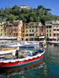 Harbour, Portofino, Liguria, Italy Photographic Print by Richard Ashworth