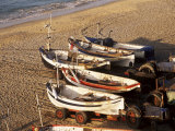Fishing Boats, Cromer, Norfolk, England, United Kingdom Photographic Print by Charcrit Boonsom