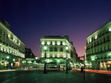 Plaza Puerta Del Sol, Madrid, Spain Photographic Print by Charles Bowman