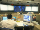 Nasa Space Mission Control, Space Centre, Houston, Texas, USA Photographic Print by Charles Bowman