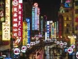 Nanjing Road, Shanghai, China Photographic Print by Charles Bowman