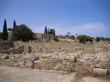 Remains of Roman Villas, Carthage, Unesco World Heritage Site, Tunisia, North Africa, Africa Photographic Print by Nelly Boyd