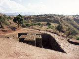 Bet Giorgis Church, Lalibela, Unesco World Heritage Site, Ethiopia, Africa Photographic Print by Julia Bayne