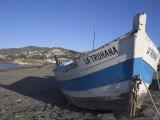 Beach Near Salobrena, Costa Del Sol, Granada Province, Andalucia, Spain Photographic Print by Charles Bowman