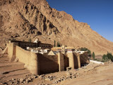 St. Catherine's Monastery, Unesco World Heritage Site, Sinai, Egypt, North Africa, Africa Fotografisk tryk af Julia Bayne