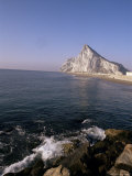 The Rock of Gibraltar, Mediterranean Photographic Print by Charles Bowman
