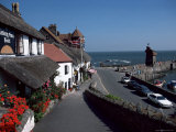 Lynmouth, Devon, England, United Kingdom Photographic Print by Cyndy Black