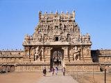 Second Entrance Gate to Brihadisvara Temple, Tamil Nadu State Photographic Print by Richard Ashworth