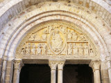 12th Century Tympanum Above Entrance to Eglise St. Pierre, Carennac Village, East of Martel, France Photographic Print by Richard Ashworth