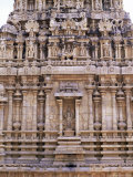 Finely Sculpted Base of 17th Century Shrine to Subrahmanya Photographic Print by Richard Ashworth