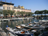 Harbour View, Desenzano, Lake Garda, Italian Lakes, Italy Photographic Print by L Bond