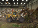 Waste Disposal Depot, England, United Kingdom Photographic Print by Charles Bowman