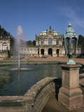 Zwinger, Dresden, Saxony, Germany Photographic Print by Charles Bowman