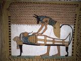 Tomb of Sennedjem, Deir El Medina, Thebes, Unesco World Heritage Site, Egypt, North Africa, Africa Photographic Print by Richard Ashworth