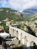Aqueduct Dating from the 17th Century, Founded by Justinian in the 6th Century), Montenegro Photographic Print by Richard Ashworth