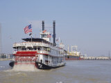 Mississippi Steam Boat, New Orleans, Louisiana, USA Photographic Print by Charles Bowman